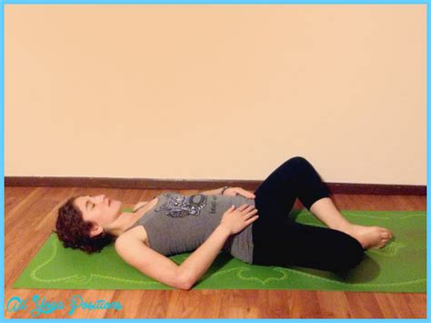 Reclining Bound Angle Pose by Reclining Bound Angle Pose All