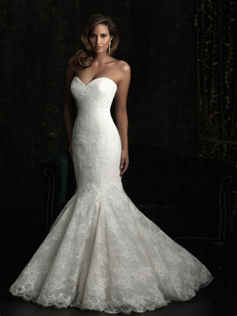 lace mermaid wedding dresses 15 wedding gowns to fall for from bridals onewed