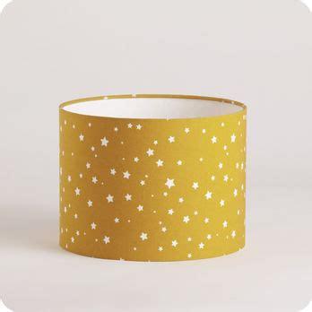 abat jour jaune moutarde 4448 abat jour ou suspension pour chambre enfant en tissu motif