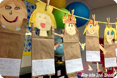 Paper Bag Princess Craft - step into 2nd grade with mrs lemons division