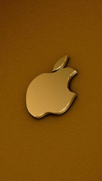 champagne gold apple logo iphonewallpaper click