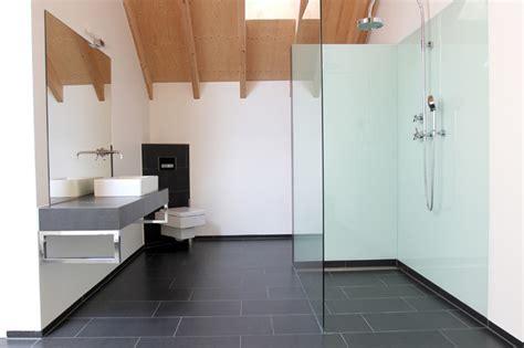 Beige Bathroom Tile Ideas sanierung eines historischen torhauses modern