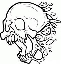 skull color free printable skull coloring pages for