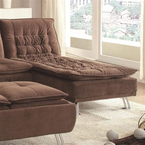 futon with chaise lounge lyell fold down futon bed chaise lounge ideas in