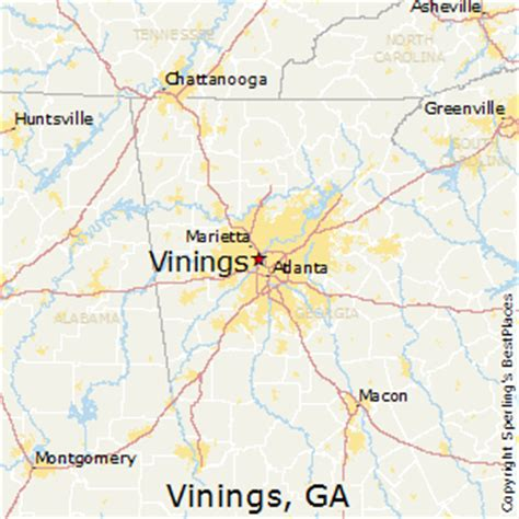 best places to live in vinings