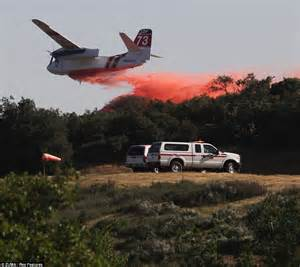 banning bench california wildfire 2013 hundreds flee homes and university evacuated onlinenigeria com