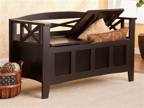 cutler bench cutler storage bench black