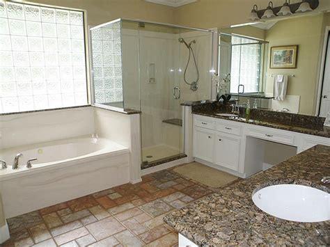 simple  nice glass block bathroom windows