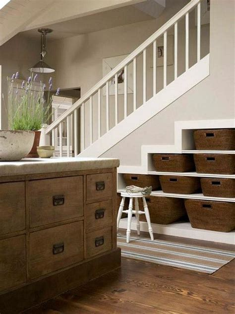 super creative under stairs storage ideas shelves and