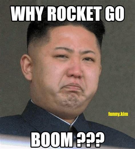 Kim Meme - north korea launches another missile attempts escalation