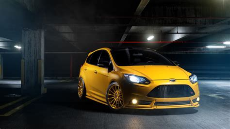 Ford Car Wallpaper Hd by Ford Focus St Wallpaper Hd Car Wallpapers Id 5533