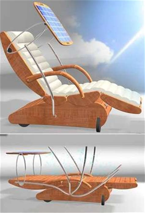 Sun Tanning Chair Design Ideas Sun Activated Loungers The S3 Chair Follows The Light For Ultimate Tanning