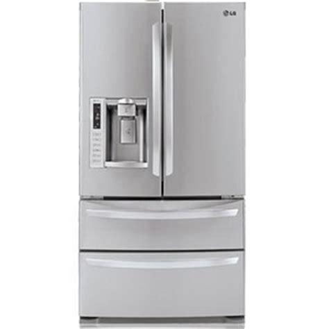 reviews on lg door refrigerators lg 28 cu ft door bottom freezer refrigerator