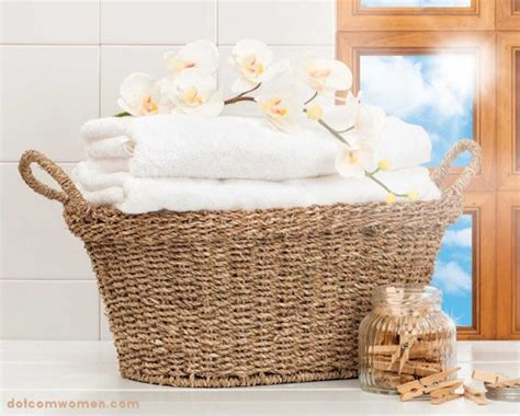 basket for towels in bathroom fluffing up your bathroom dot com women