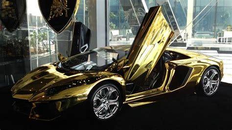 Gold Plated Lamborghini Price Gold Lamborghini Yours For 7 5 Million
