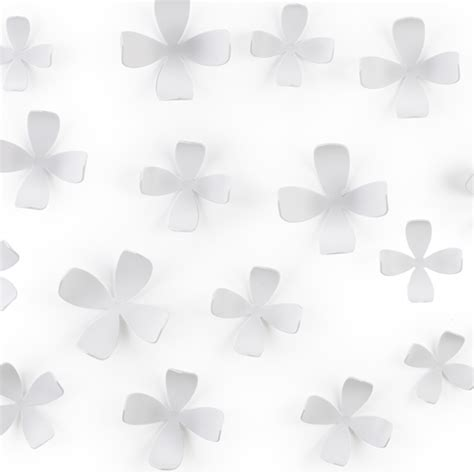 Wallflowers By Umbra Umbra Wallflower Wall Decor White In Decorations