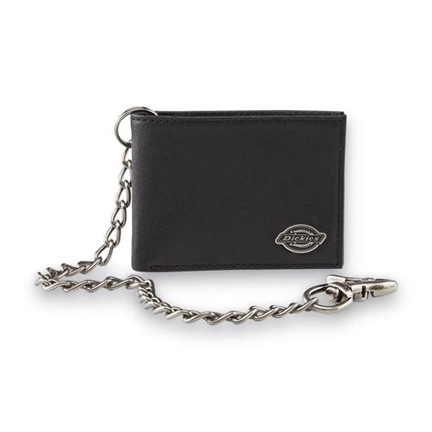dickies s bifold chain wallet clothing bags