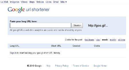direcciones cortas google http goo gl acortador de url s de google dinternet