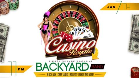 backyard band coming home to you casino royale featuring the backyard band the howard theatre