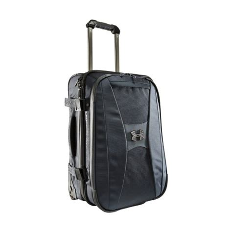 ua luggage big surprise ua armour elite wheeled carry on bags by