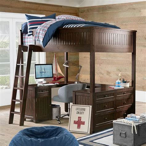 beadboard loft bed loft beds beadboard loft bed pbteen