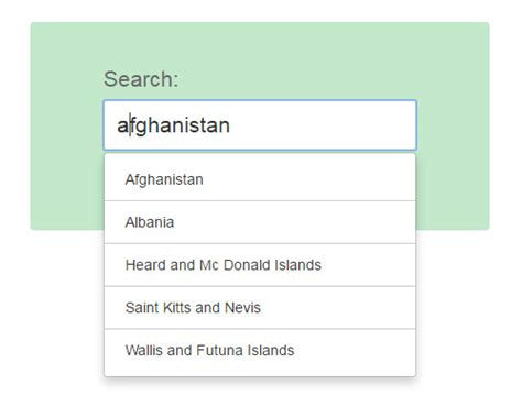 tutorial typeahead bootstrap how to create typeahead auto complete field using bootstrap
