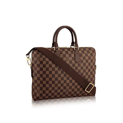 Louis Vuitton Porte Documents Jour 23355 louis vuitton porte documents jour in brown lyst