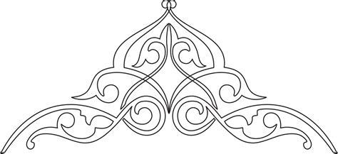 membuat ornamenhiasan pinggir kaligrafi suryalaya