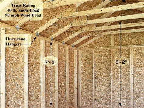 sierra  wood storage garage shed kit