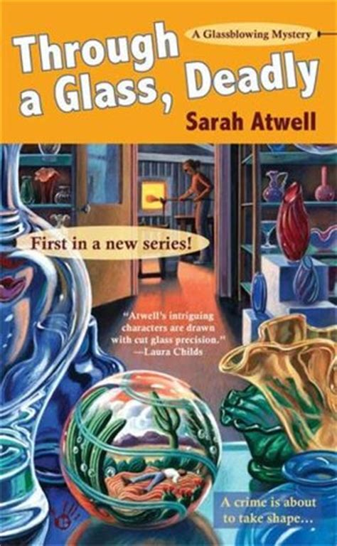 through a glass books through a glass deadly a glassblowing mystery 1 by