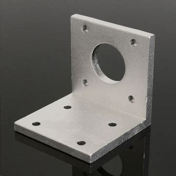 Stepper Bracket 42mm By Na Robotic 42mm aluminum mounting bracket l shape bracket for nema17