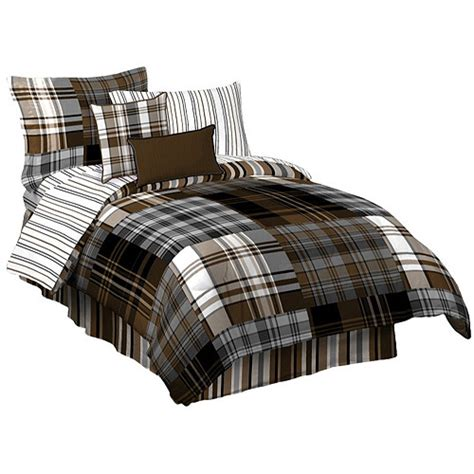 walmart bed sheet set bentley plaid sheet set walmart com