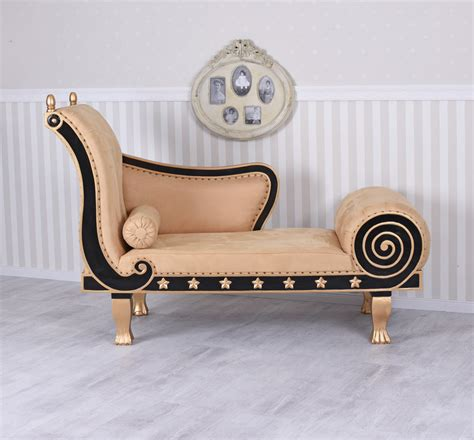Sofa Antik by Regency Recamiere Chaiselongue Alcantara Ottomane Sofa