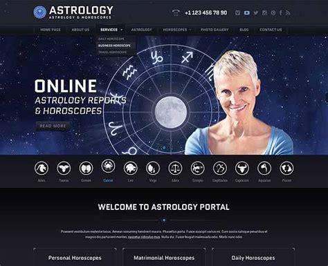 templates for astrology website astrology website templates gridgum