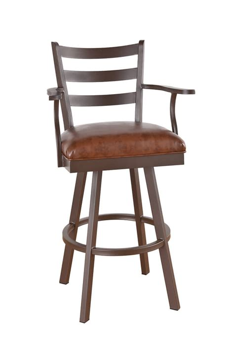 bar stools swivel with arms callee claremont swivel stool for big tall guys free