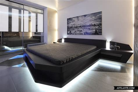 futuristic bedroom furniture futuristic apartment in moscow disobject afflante com