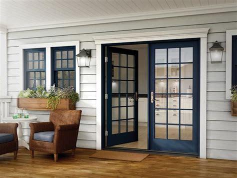 Out Swing Patio Doors Milgard Essence Series In Swing And Out Swing Patio Doors Now Available Glassonweb
