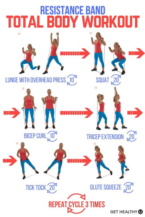 printable exercise band workouts 25 best ideas about resistance tube on pinterest