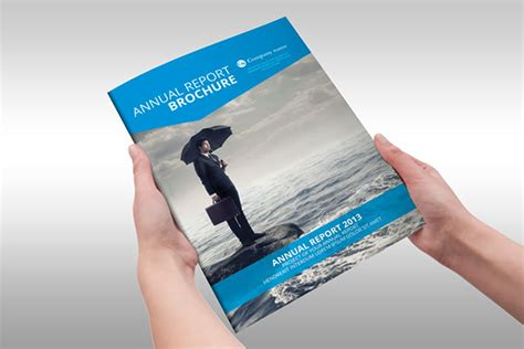 free indesign report templates annual report brochure indesign template on behance