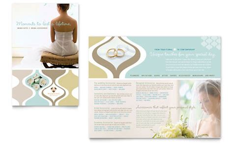 wedding event marketing brochures flyers postcards