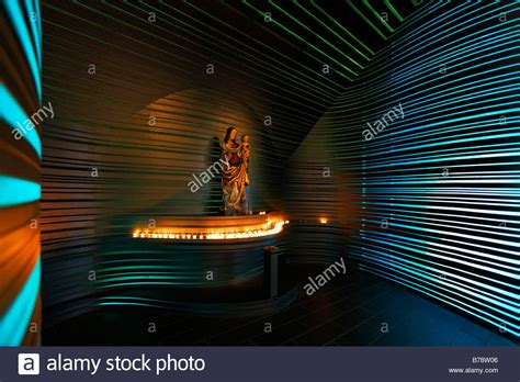 prayer room live modern prayer room with and baby jesus in church st klara stock photo royalty free