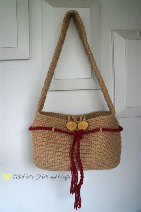 washed ashore crochet handbag favecraftscom
