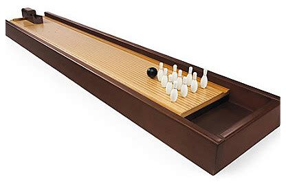 tabletop bowling game contemporary game tables