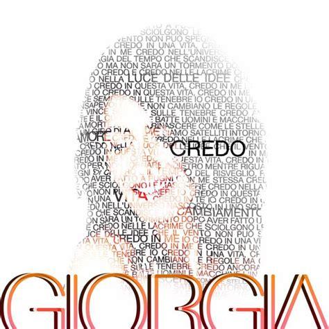 Il Credo Testo - credo giorgia testo e