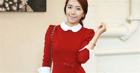 Korean Fashion Impress Bag Broken White Tas Fashion Kore Best Seller kimchi style white collar dress kstylick korean fashion k pop styles fashion