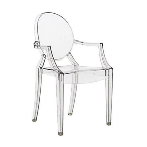 Philippe Starck Ghost Chair by Philippe Starck Style Louis Ghost Arm Chair Clear S