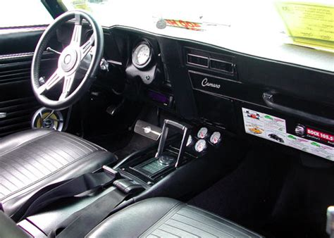 69 Camaro Interior by Colonial Capital Rods And Classics Car Club New Bern N