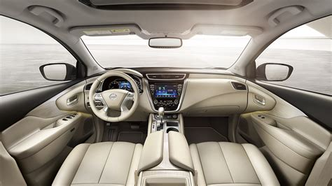 nissan murano interior 2018 2018 nissan murano key features nissan canada