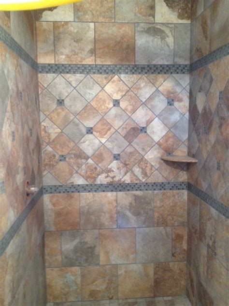 rustic tile bathroom rustic shower traditional bathroom other metro by