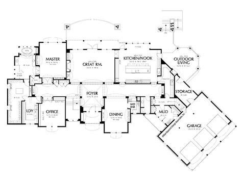 get home blueprints floor plans for new homes to get home decoration ideas